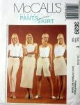 McCalls pattern 3529 - skirt