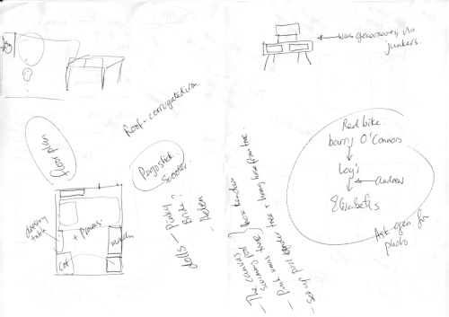 page 2 of my notes about the dolls house