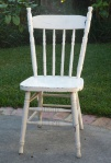 unrestored chair