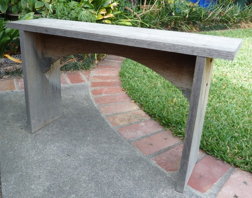 bench seat in its original state