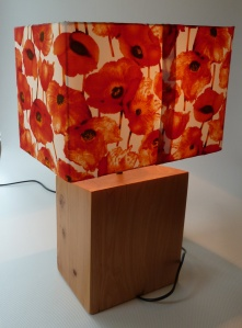 lamp completed - rear view