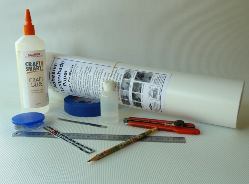 tools for covering lampshade