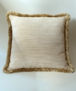 fringed cushion cover finished