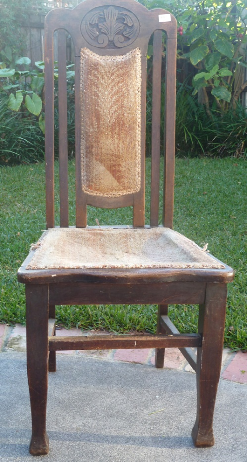 chair in original state