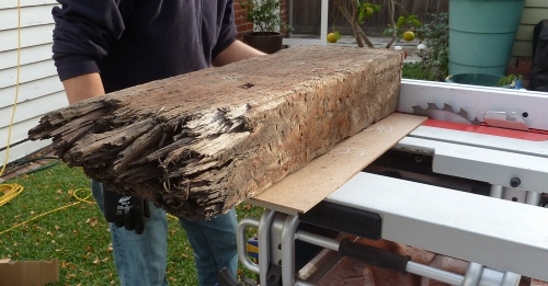 original piece of timber