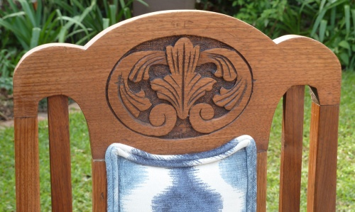 chair backrest detail finished